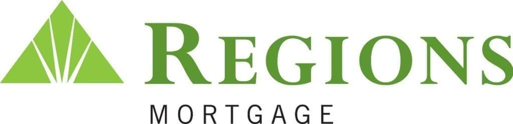 Modern Regions Mortgage logo in green lettering against white background