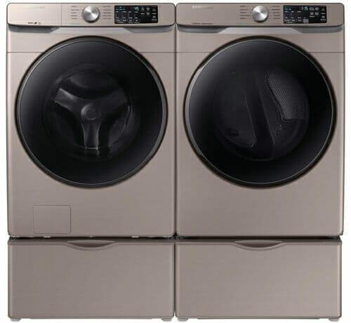 Samsung front load washer/dryer in titanium