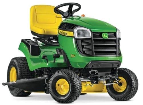 John Deere E120 42 in. 20 HP V-Twin Gas Hydrostatic Lawn Tractor