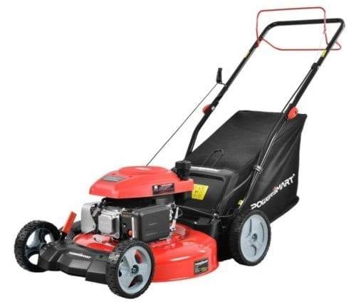 PowerSmart 21 in. 3-in-1 161cc Gas Self Propelled Walk Behind Lawn Mower